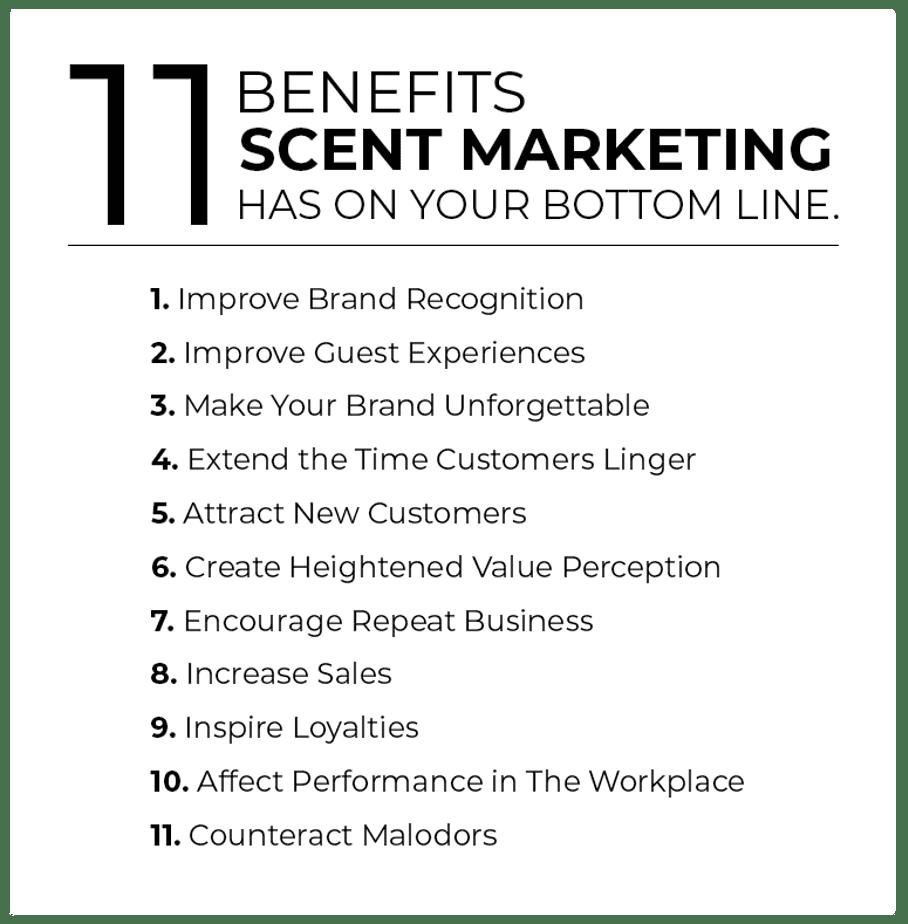 11 Benefits of Scent Marketing